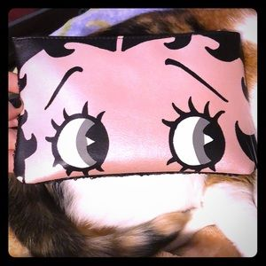 Betty Boop Makeup Bag Only NWOT